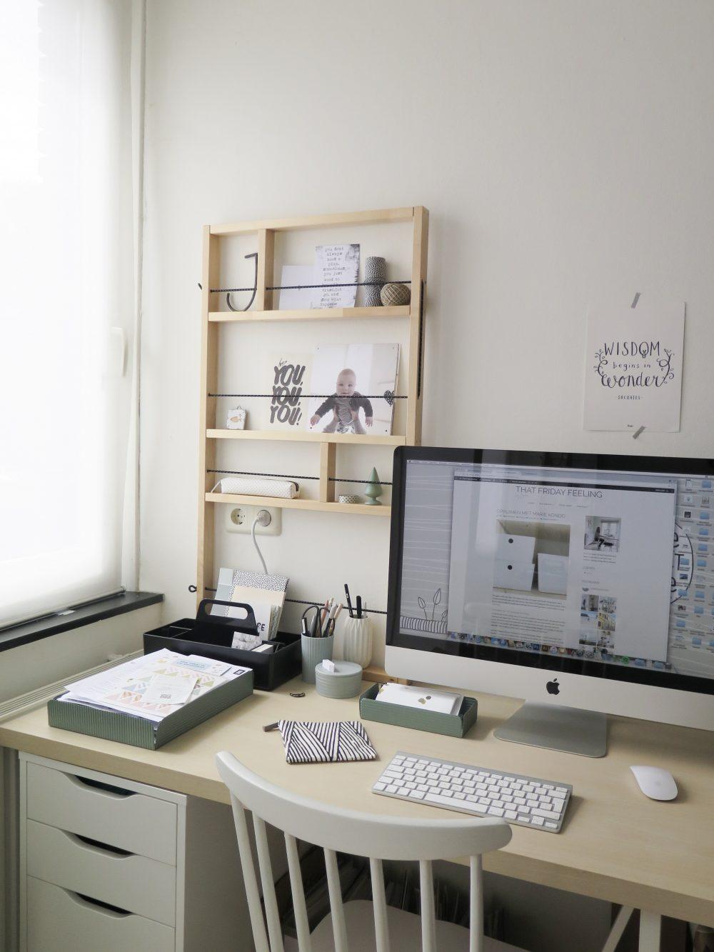 Opruimen met Marie Kondo werkplek