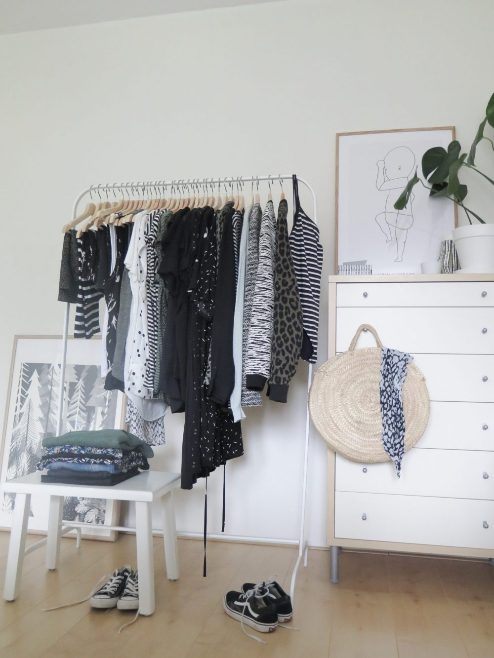 Capsule wardrobe kleding collectie