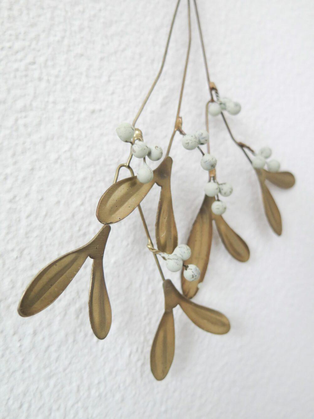 Mistletoe van goud
